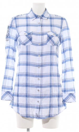 New Zealand Auckland Lumberjack Shirt white-blue check pattern casual look