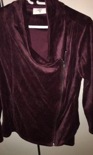 C&A Chándal violeta amarronado-burdeos tejido mezclado
