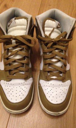 Nike Dunk High, sand-weiß, 42