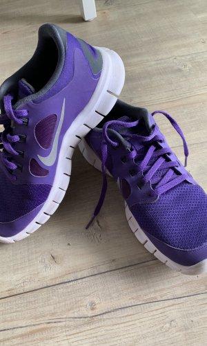 Nike Zapatilla brogue lila-violeta oscuro