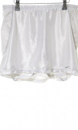 Nike Jupes-culottes blanc style mouillé