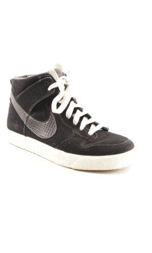 Nike Schnürsneaker schwarz-dunkelgrau Casual-Look