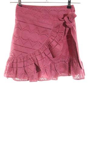 Nikkie Wikkelrok violet-stoffig roze Boho uitstraling
