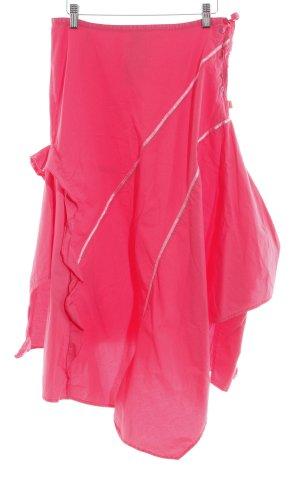 Oilily Volanten rok roze casual uitstraling