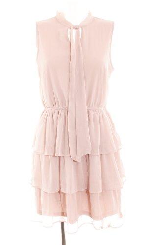 Only Volantkleid pink Elegant