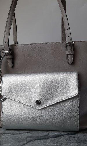 "Orginal Michael Kors ""Business Bag"", grau/Silber,  Neuwertig!"