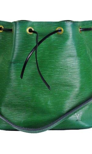 ORIG LOUIS VUITTON SAC PETIT NOE EPI LEDER GRÜN GREEN Beutel Tasche Sack / GUTER ZUSTAND