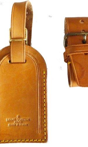 Louis Vuitton Bolso de viaje marrón arena Cuero