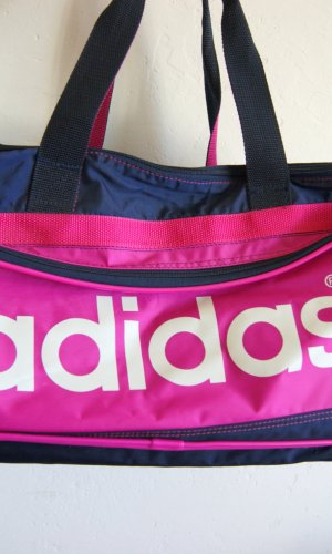Adidas Sports Bag dark blue-pink