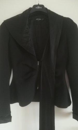 Giorgio  Armani Wollen blazer zwart