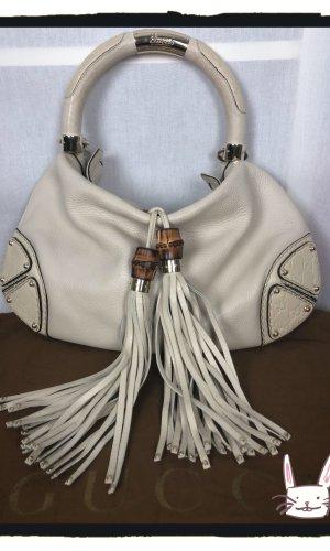 Original Gucci Indy Hobo bag in hellbeige