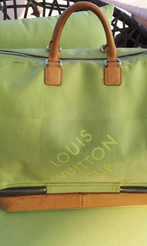 Louis Vuitton Bolso de viaje verde claro