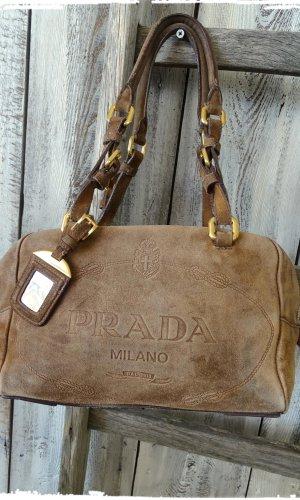 Prada Handbag light brown-brown leather
