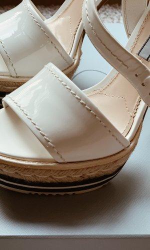 Prada Platform Sandals multicolored
