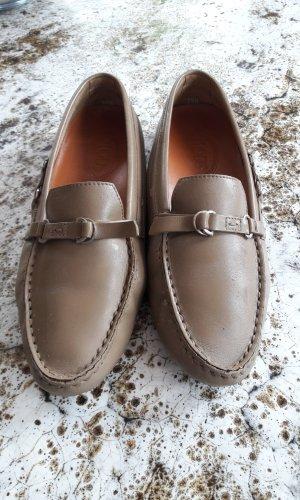 Tod's Moccasins grey brown