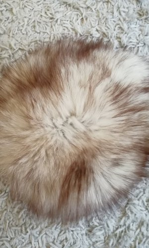 Delmod Chapeau en fourrure multicolore