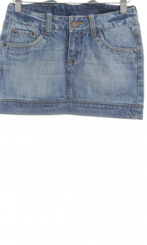 Outfitters nation Spijkerrok blauw casual uitstraling