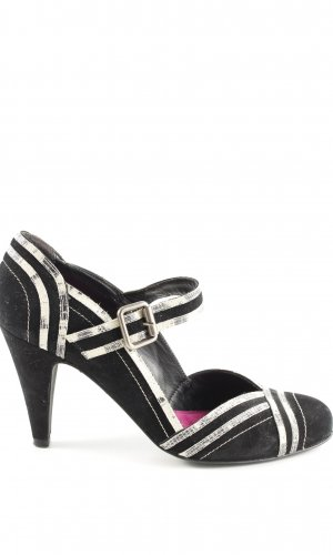 Paco Gil Escarpins Mary Jane noir style d'affaires