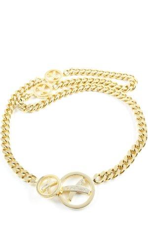 Paloma Picasso Cinturón de cadena color oro elegante
