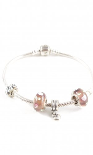 Pandora Silver Bracelet silver-colored casual look