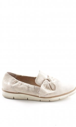 Paul Green Moccasins natural white casual look