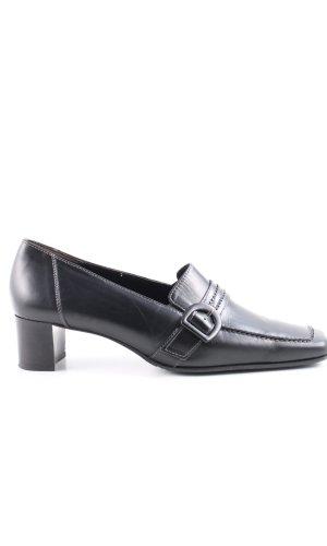 Paul Green Zapatos estilo Richelieu negro estilo «business»