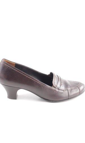 Paul Green Zapatos estilo Richelieu marrón elegante