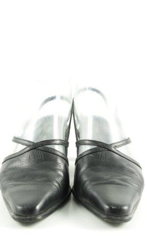 Paul Green Escarpin à bride arrière noir style décontracté