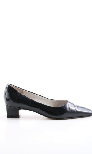 Peter Kaiser Zapatos estilo Richelieu negro estilo «business»