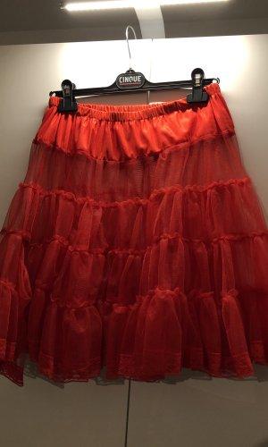 Collectif Volanten rok rood