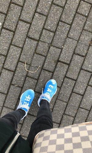 Pharrell Williams x Adidas Human Race NMD Hu PEACE Blue China Pack Exclusive