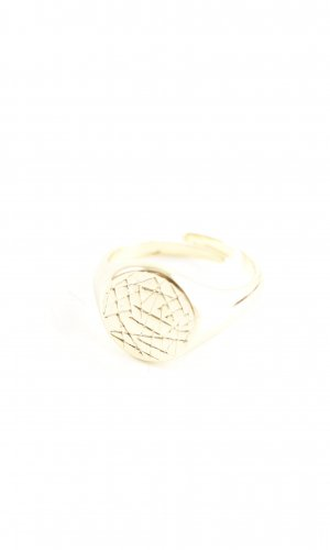 Pilgrim Statement Ring gold-colored casual look