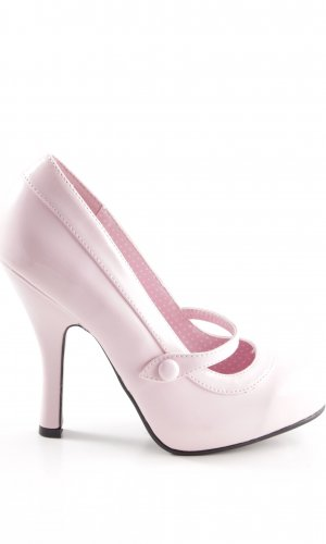 Pin Up Couture Mary Jane Pumps pink Casual-Look