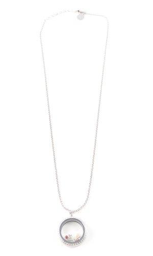 Pippa & Jean Collar color plata brillante