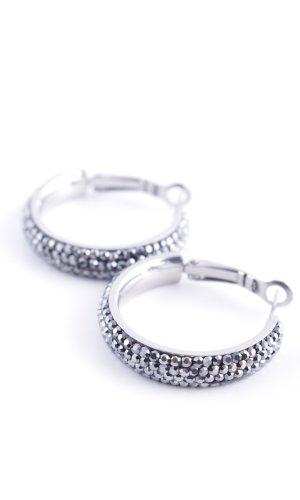 Pippa & Jean Pendientes de plata color plata estilo «business»