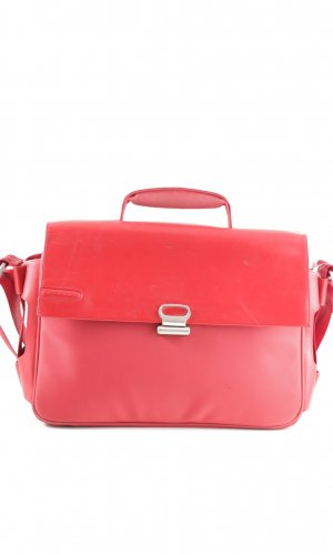 Piquadro Laptoptas rood zakelijke stijl