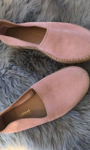 Moccasins pink-dusky pink