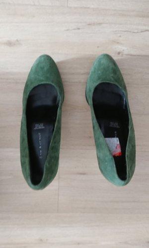 Plateau pumps grün