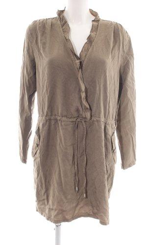 Please Robe chemise brun style d'affaires