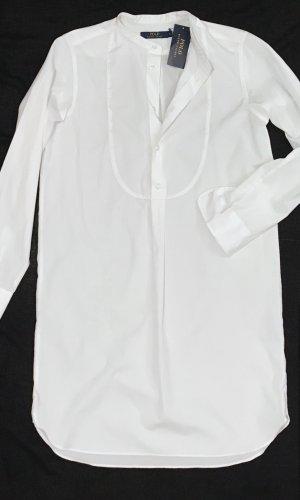 Polo Ralph Lauren Robe chemise blanc coton