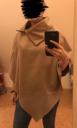 SheIn Poncho para lluvia marrón claro-camel
