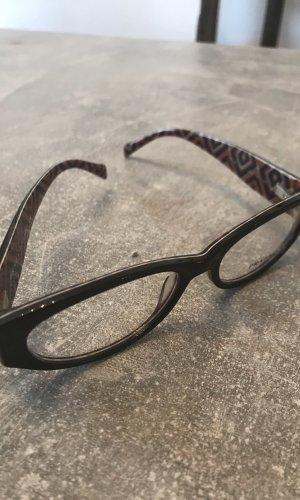 Prada Glasses black-brown red