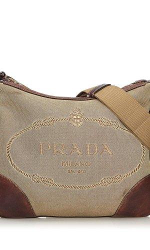 Prada Canapa Canvas Crossbody Bag