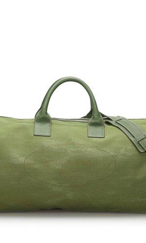 Prada Travel Bag green