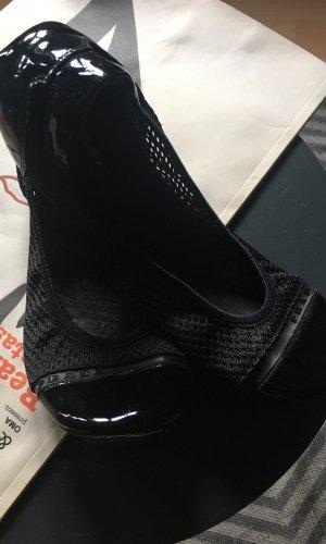 Prada Foldable Ballet Flats black
