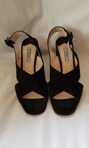 Prada High Heel Sandal black