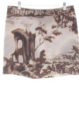Prada Miniskirt abstract pattern casual look