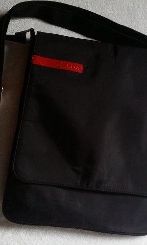 Prada Nylon Umhängetasche schwarz