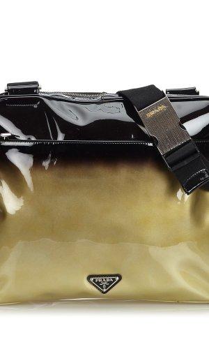 Prada Patent Leather Ombre Crossbody Bag