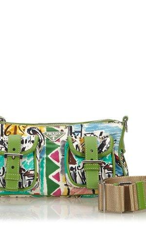 Prada Printed Nylon Crossbody Bag